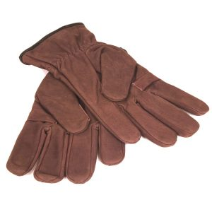 Nubuck Leather Shooting Gloves