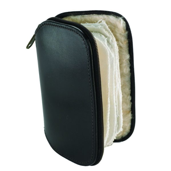 Leather Fly Fishing Wallet with