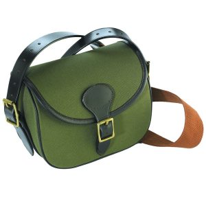 Canvas and Leather Cartridge Bag 100